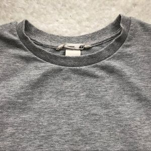 H&M Girls Sparkly Crew Neck Sweatshirt 8-10
